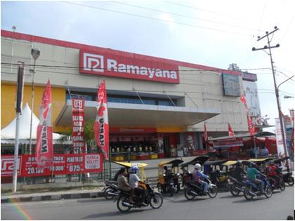 Ikut Menjadi Sponsor Pameran Dan Modem Murah Ramayana Baturaja